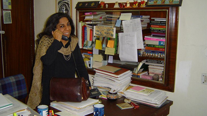 Urvashi Butalia is a feminist publisher and author, founder and head of Zubaan Books Delhi, one of the leading publishers of women's writing in India.